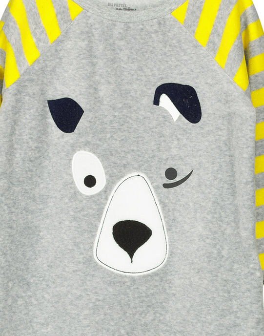 Pyjama Gris FEGOPYJDOG / 19SH1242PYJJ908