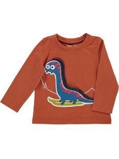 Tee-shirt manches longues bébé garçon DUPINTEE1 / 18WG10P1TML409