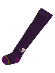 Collant avec motif en bas de jambe  GYIVIOCOL / 19WI09R1COL708
