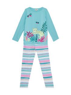 Pyjama Bleu JEFAPYJLEO / 20SH112BPYJC215