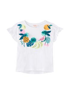 Tee Shirt Manches Courtes Blanc JAQUATI1 / 20S901R1TMC000