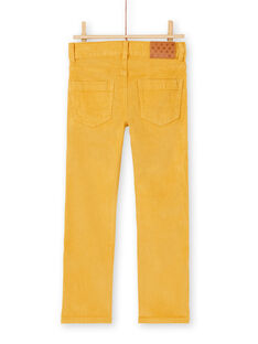 Pantalon bordeau en velours cotelé garçon KOJOPAVEL1 / 20W90251D2B113