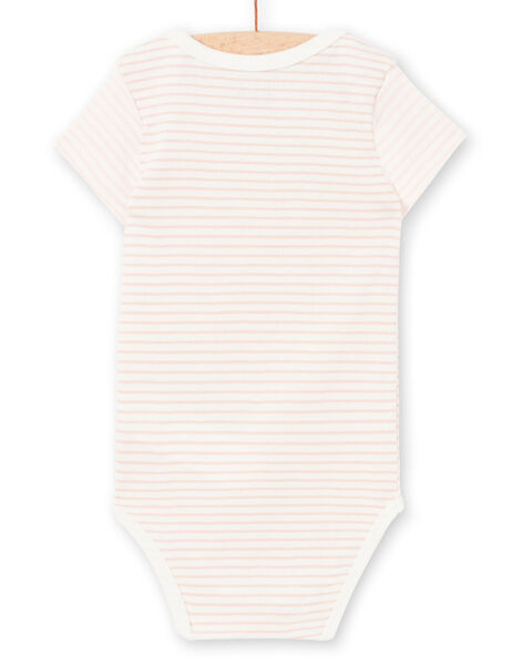 Body rose et blanc à rayures LEFIBODCHA / 21SH1322BDL001