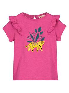 Tee-shirt fantaisie fille FATUTI3 / 19S901F3TMC712