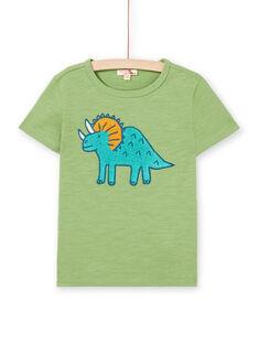 Tee Shirt Manches Courtes Vert LOVERTI2 / 21S902Q5TMCG626