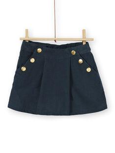 Short en velours façon jupe culotte KAECOSHORT / 20W901H1SHO714