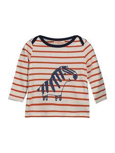 Tee-shirt manches longues bébé garçon FUBATEE2 / 19SG1062TML099