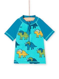 Tee-Shirt anti-uv Bleu LYUTEEUVEX2 / 21SI10D3TUVC215