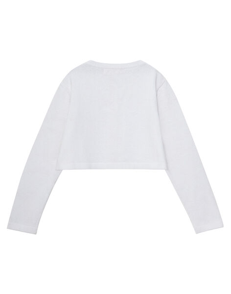Cardigan Blanc JAPOECAR2 / 20S901G2CAR000