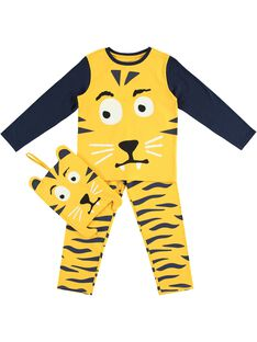 Pyjama phosphorescent motif tigre JEGOPYJMAN3 / 20SH12L1PYG106