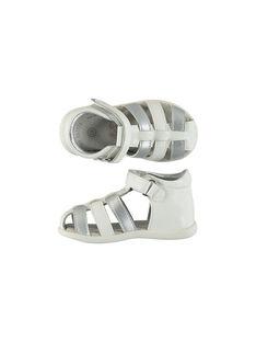 Sandale ville cuir flex bébé fille FBFSANDFLEX / 19SK37C2D0E000