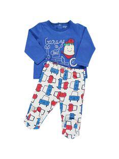 Pyjama en coton bébé garçon CEGUPYJGAR / 18SH1441PYJ201