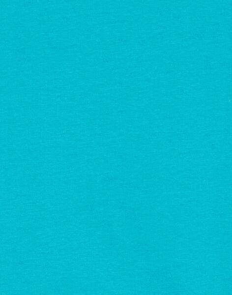 Tee Shirt Manches Courtes Bleu LOJOTI8 / 21S902F4TMCC242