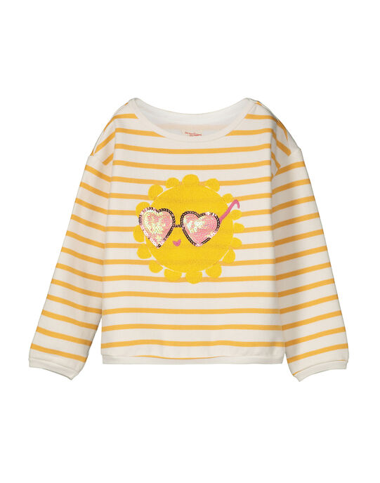 Sweat fantaisie fille FALISWEAT / 19S90121SWE099