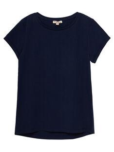 Tee Shirt Manches Courtes Bleu marine JAESTI3 / 20S90161D31070