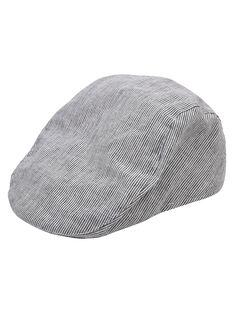Chapeau chambray couleur BLEU  JYOWECHAP2 / 20SI0291CHA721