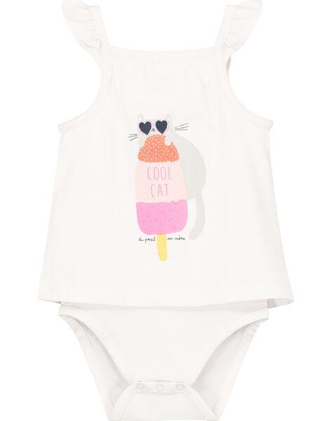 Body effet 2-en-1 bébé fille FICUBOD / 19SG09N1BOD000