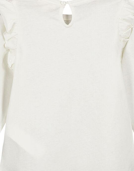 Tee Shirt Manches Longues Ecru GATUTEE1 / 19W901Q1TML001