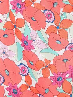 Pantalon fluide, imprimé fleurie LAVIPANT / 21S901U1PAN000
