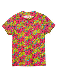 Tee-Shirt anti-uv Rouge JYAMERUV / 20SI01K1TUVF510