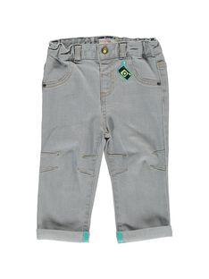 Jeans Denim gris CUHOJEAN / 18SG10E1JEAK004