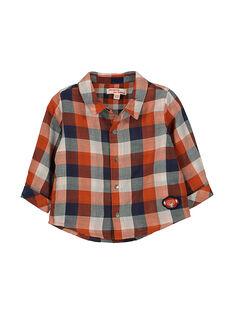 Chemise à carreaux bébé garçon FUBACHEM / 19SG1061CHM099