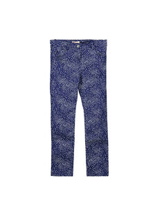 Pantalon fantaisie fille FANEPANT / 19S901B1PAN099