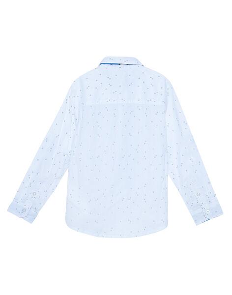 Chemise blanche imprimée garçon JOSOCHEM1 / 20S90282CHM000