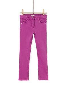 Pantalon garment dyed  KAJOPANT2 / 20W90132D2BH704