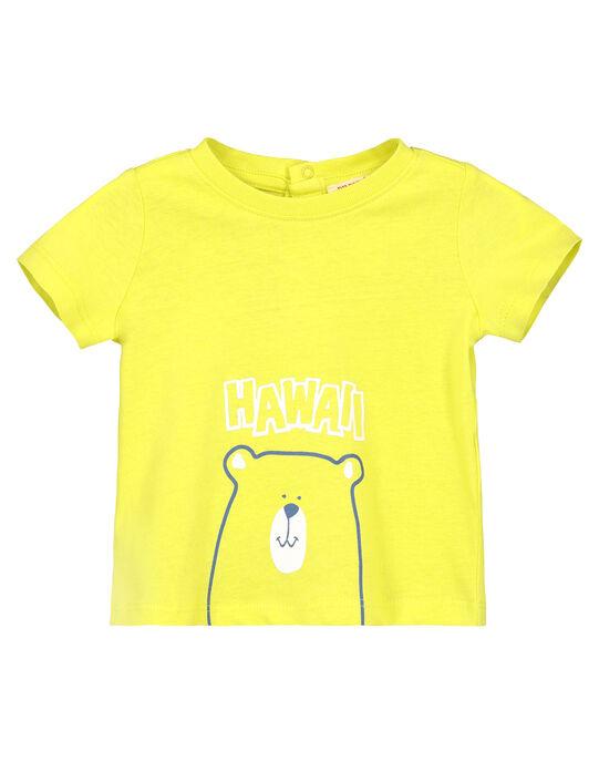 Tee-shirt manches courtes bébé garçon FUJOTI10 / 19SG10G3TMCB105