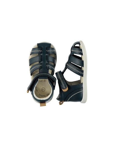 Sandales Bleu marine FBGSANDFLEX / 19SK38C1D0E070