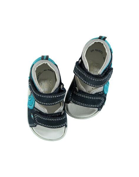 Sandale ville cuir bébé garçon FBGSANDMA / 19SK38K4D0E070