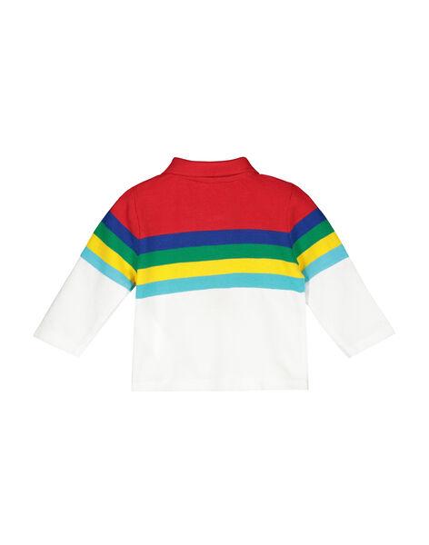 Polo à manches longues bébé garçon FUCOPOL / 19SG1081POL099