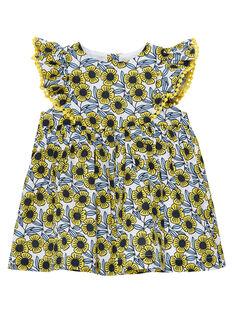Robe imprimée bébé fille JITROROB2 / 20SG09F3ROB000