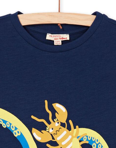 Tee Shirt Manches Courtes Bleu marine LONAUTI1 / 21S902P2TMC070