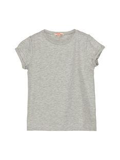 Tee-shirt manches courtes fille FAJOUTI1 / 19S901Y1D31943