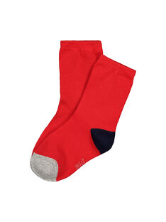 Chaussettes tricolores garçon FYOJOCHO5B / 19SI023ASOQF513