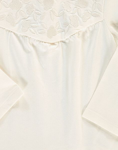 Tee-shirt manches longues bébé fille CIJOTEE1 / 18SG09R1TML001