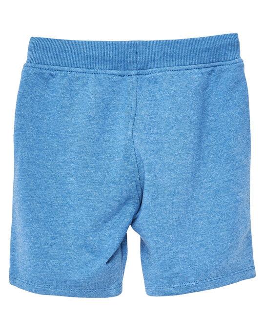 Bermuda molleton garçon basique bleu chine JOJOBER5 / 20S90255D25C206