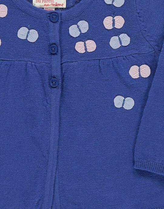 Cardigan Bleu CIKLECAR2 / 18SG09D2CARC207