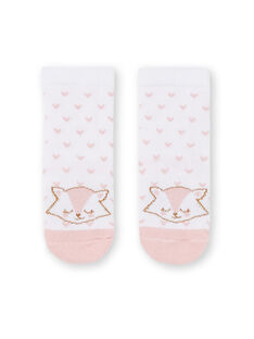 Chaussettes layette fille  KYIJOCHO4 / 20WI0932SOQA001