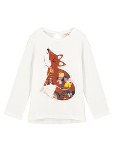 Tee-shirt à manches longues fille GAJAUTEE1 / 19W901H1TML001