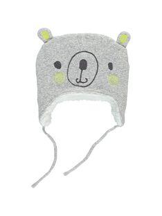 Bonnet cache-oreilles bébé mixte DOU2BON1 / 18WF42M1BNA099