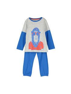 Pyjama en coton garçon FEGOPYJSIN / 19SH124APYJJ908