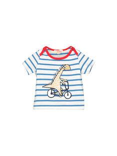Tee-shirt manches courtes bébé garçon imprimé FUTOTI4 / 19SG10L3TMC099