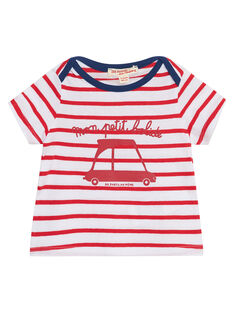 Tee Shirt Manches Courtes Rouge JUJOTI3 / 20SG10T1TMCF524