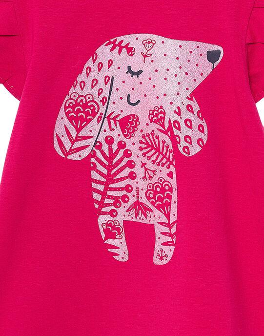 Tee Shirt Manches Courtes Rose JAJOTI2 / 20S90144D31F507