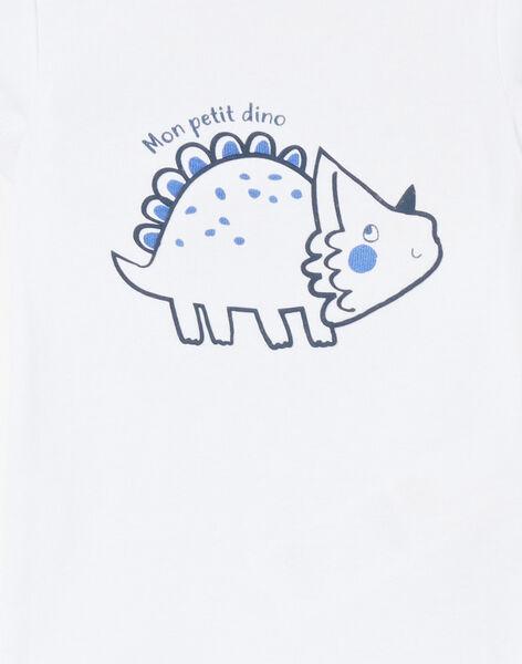 Body blanc motif dinosaure LEGABODTRI / 21SH1428BDL000