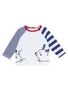 Tee Shirt Manches Longues Blanc JUGRATEE2 / 20SG10E2TML000