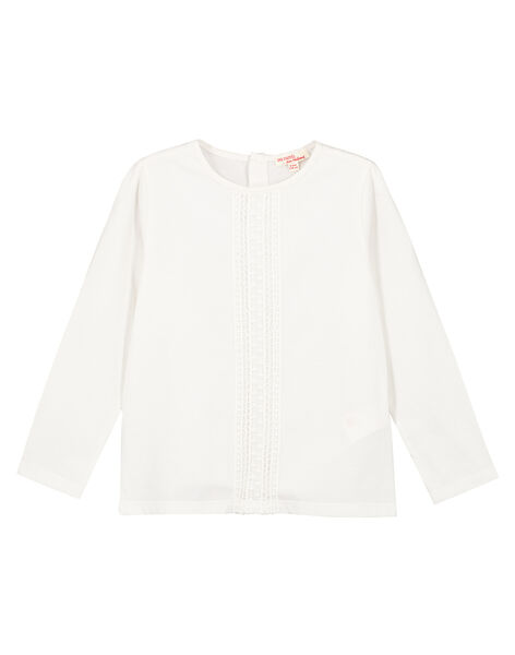 Tee Shirt Manches Longues Ecru GAJOSTEE3 / 19W90136D32001